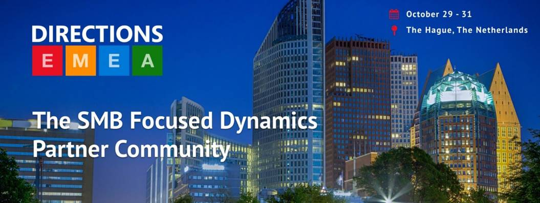 Directions EMEA 2018 – Day 1:  Update from the premier Dynamics 365 Business Central Conference